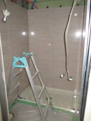 施工完了浴室