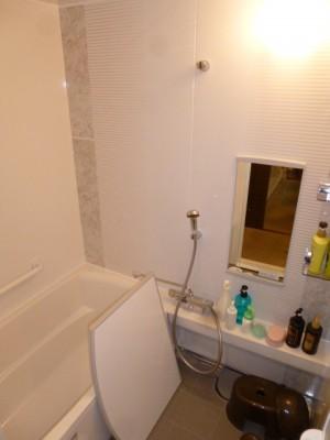 伸びの美浴室完成
