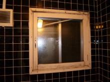 窓枠木製腐食