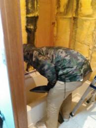 浴室空間解体撤去