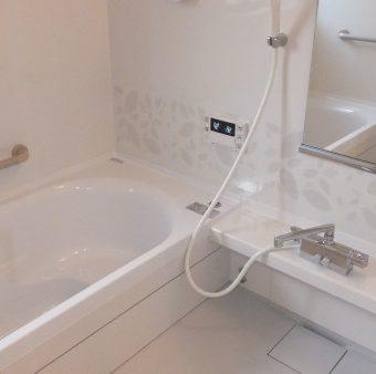 小さな浴槽のタイル風呂からゆったり・あったかシステムバスへ 恵庭市