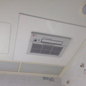 札幌市 浴室暖房換気乾燥機 交換へ
