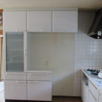 札幌市戸建住宅 タカラエーデルシリーズ食器棚リフォーム