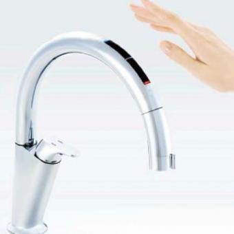 LIXIL INAX キッチン用 タッチレス水栓ナビッシュ
