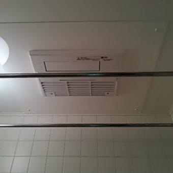 天井埋め込み型浴室暖房乾燥機交換!札幌市マンション