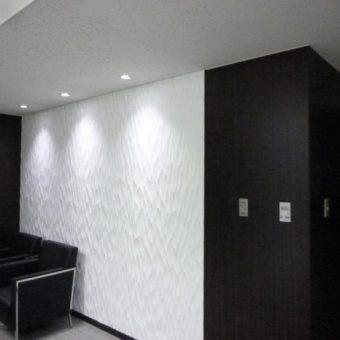 デザインリフォーム施工例 エレガントウッドコーポレーションの壁材