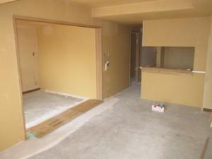 間仕切り壁造作4