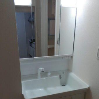 低価格でコスパ最高なTOTO『Vシリーズ』へ洗面リフォーム事例!小樽市