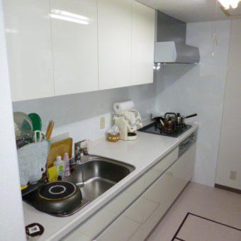 開放的なキッチンへ LIXIL Sunwave 『アミー』 札幌市マンションリフォーム