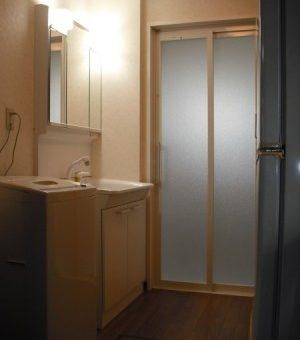 浴室リフォームといっしょに、ユーティリティーのリフォーム 札幌市