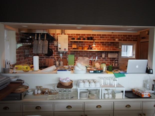 施工後オープンキッチン風