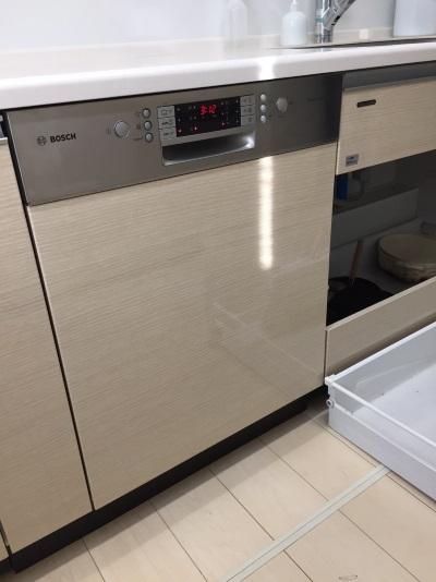 ドイツ・ボッシュ(BOSCH)食器洗い機ゼオライト乾燥機能タイプ