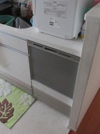 パナソニックエコナビ付ビルトイン食器洗い乾燥機