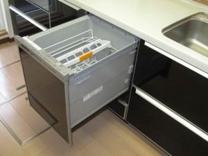 施工後食器洗い乾燥機