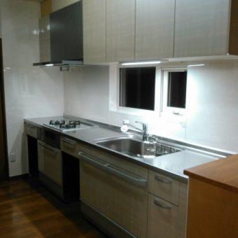 上質なステンレスで、見えない部分まできちんと長寿命キッチン!札幌市