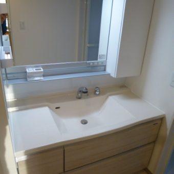 タカラ最高級グレード『エリーナ』で上品な洗面空間演出施工事例!札幌市