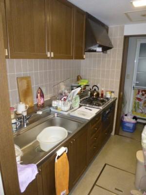 既存キッチン43