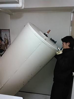 電気温水器搬出