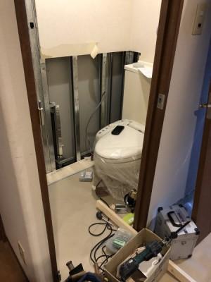 トイレ解体