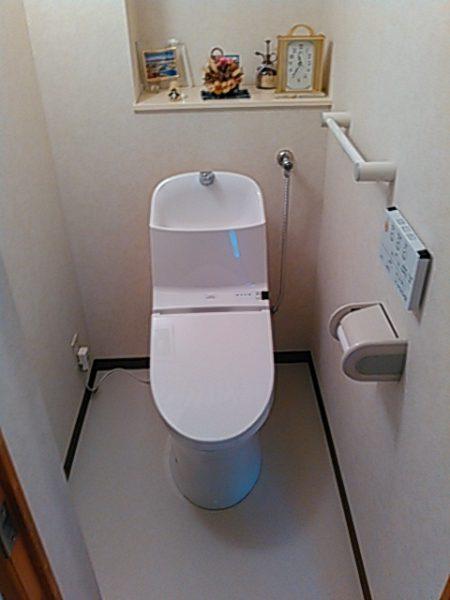 TOTOのウォッシュレット一体形便器『GGシリーズ/手洗い器付き』