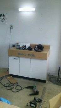 ⅡLIXIL木製キャビネットキッチン『YSⅡ』2