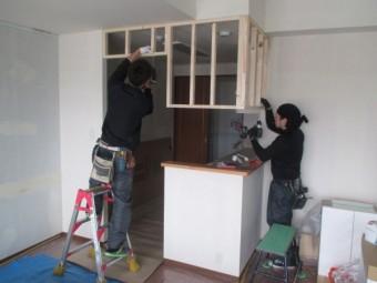 間仕切り壁造作5