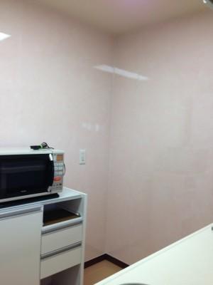 キッチン新壁