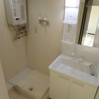 新規洗面室造作、水廻りの作業動線をスムーズに!! 札幌市