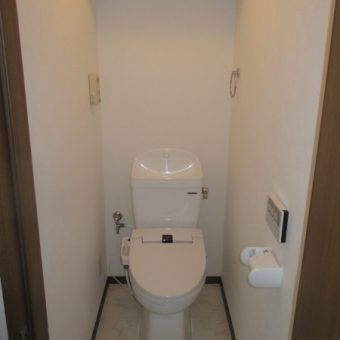 賃貸マンション、リーズナブルにリフォーム『トイレ』!札幌市