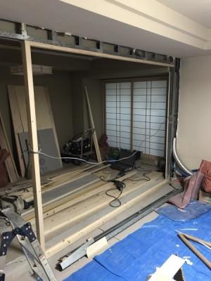 和室の解体