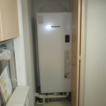 パナソニック製電気温水器『ユポカ』角型セミオートタイプ交換!札幌市