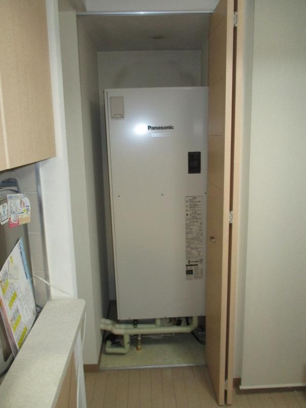 パナソニック製の電気温水器370L