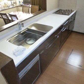 タカラホーローシステムキッチン『リテラ』へすっきりリフォーム!札幌市
