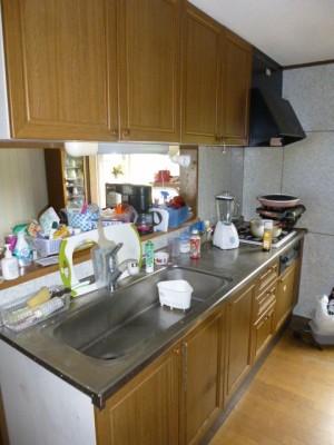 既存キッチン48