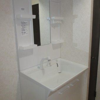 TOTO洗面化粧台『Vシリーズ』でコンパクトでスッキリ空間施工事例!札幌市