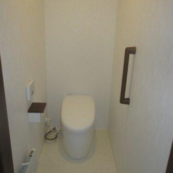 札幌市 TOTOネオレストで上質なトイレ空間にリフォーム(トイレ位置移設)