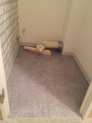 トイレ・施工中