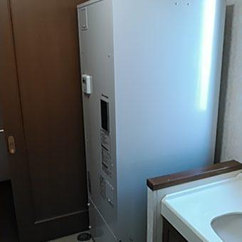 角型給湯専用電気温水器370L交換工事 平取町