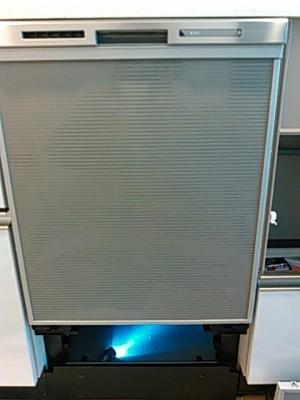 新食洗乾燥機設置