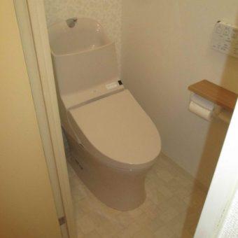TOTOウォッシュレット一体形便器『GG1-800』で快適なスッキリトイレ!札幌市