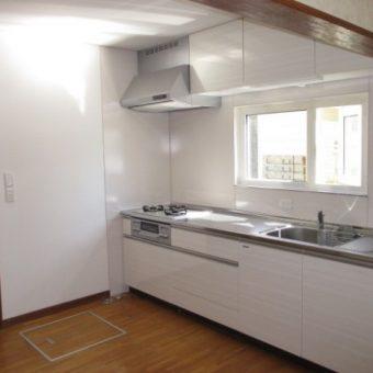 木製システムキッチン『グレーシア』で明るい爽やか空間へ!札幌市