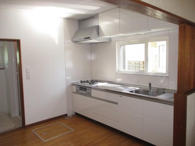 タカラスタンダードぴったりサイズ木製システムキッチン『グレーシア(GRACIA)』/I型255㎝タイプ