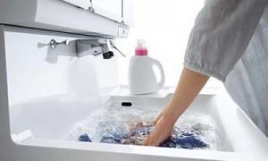 ハイバックカウンター手洗い洗濯