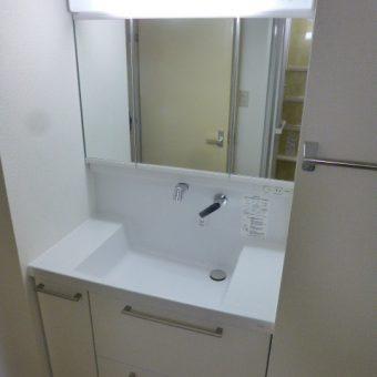 札幌市 TOTO『オクターブ』へリフォーム☆人と環境に優しいクリーン技術の「きれい除菌水」機能付洗面!