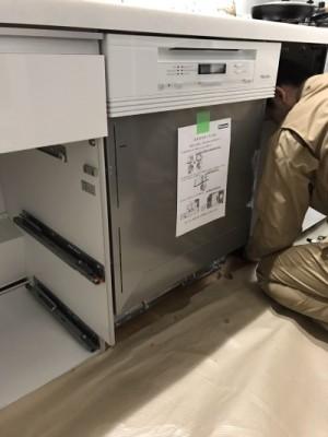 食器洗い機取付