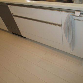 DEEPタイプビルトイン食器洗い乾燥機新規設置+キッチン背面収納設置!札幌市