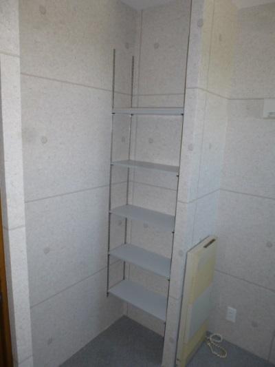 製作棚板収納