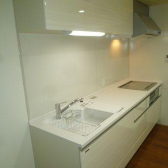 札幌市中央区水廻りリフォーム キッチン人工大理石シンク