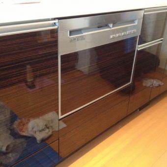 60cm幅 ビルトイン食器洗い乾燥機交換 札幌市豊平区