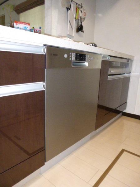 ドイツ・ボッシュ(BOSCH)のビルトイン食器洗い機ゼオライト乾燥機能タイプ